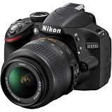 NIKON D3200 Kit2 VR - Black - Camera SLR